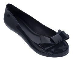 Pop Glamour Bow Navy | Ladies Zaxy Shoes | ZAXY