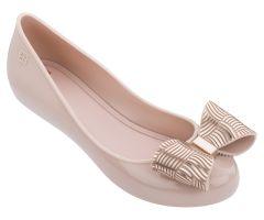 Pop Joy Bow Blush Chrome | Ladies Zaxy Shoes | ZAXY