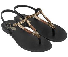 Rustic Sandal Black