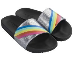 Snap Dream Slide Black Rainbow