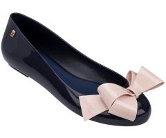 Space Love Bow 22 Navy Contrast