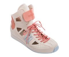Speed Sneaker Coral Contrast