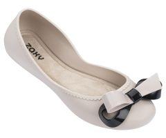 Start Ribbon Bow Ivory | Ladies Zaxy Shoes | ZAXY