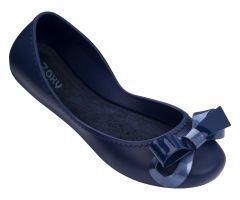 Start Ribbon Bow Navy | Ladies Zaxy Shoes | ZAXY