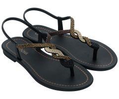 Twist Sandal Black