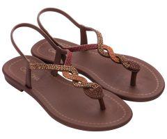 Twist Sandal Bronze