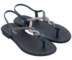 Twist Sandal Navy