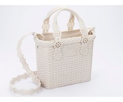 Viktor And Rolf Lace Bag Ivory