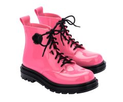 Viktor And Rolf Coturno Bright Pink | Viktor and Rolf + Melissa Shoes