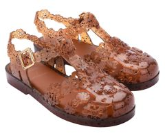 Viktor And Rolf Possession Lace Espresso Trans | Viktor and Rolf + Melissa Shoes