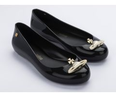 VW Sweet Love Black Gold Orb    Vivienne Westwood + Melissa Shoes