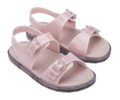 Wide Sandal Milky Blush