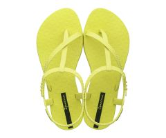 Wish Sandal Neon Yellow Snake