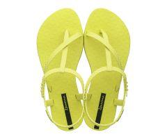 Wish Sandal Neon Yellow Snake