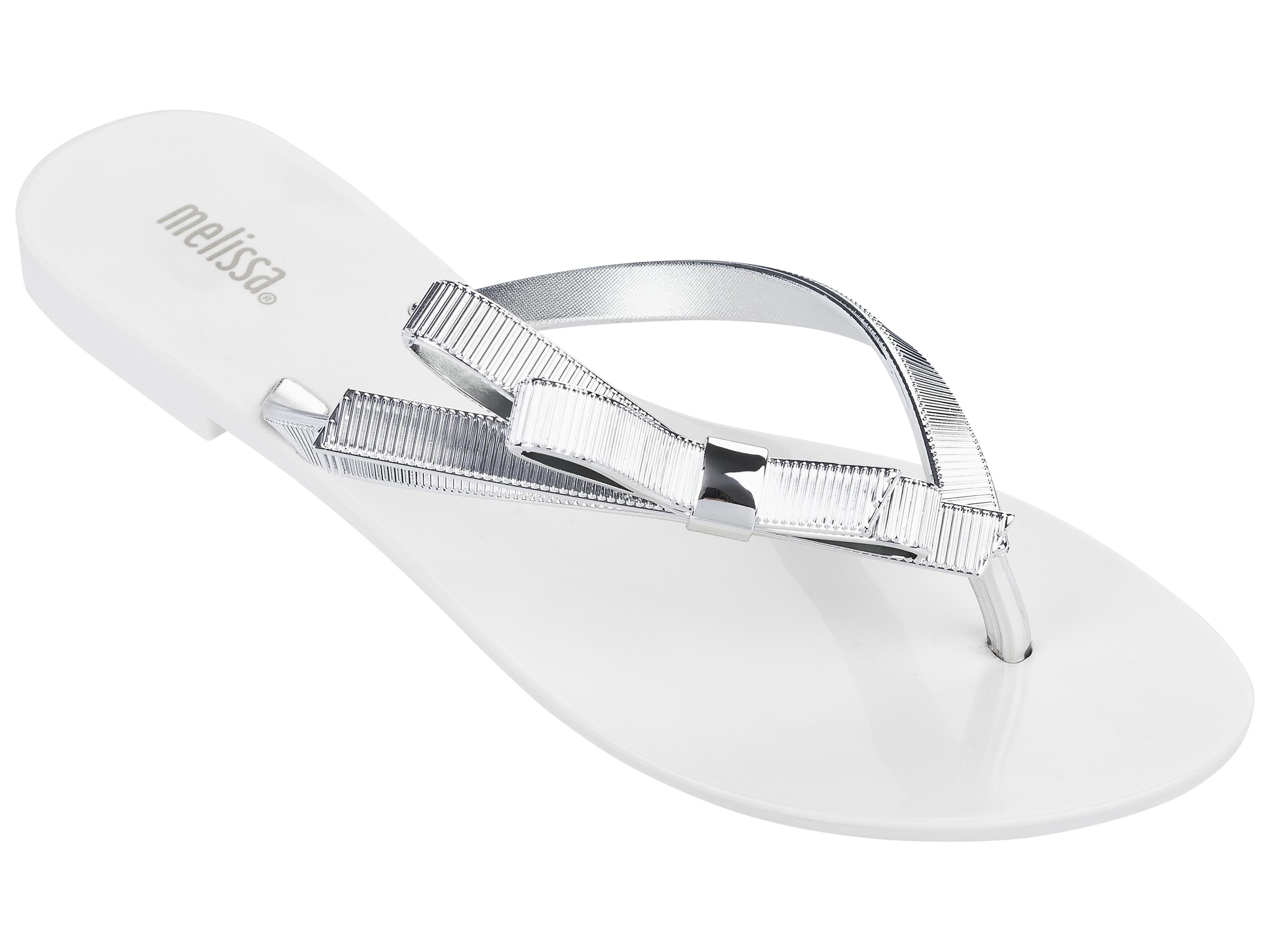 Harmonic Chrome White Silver