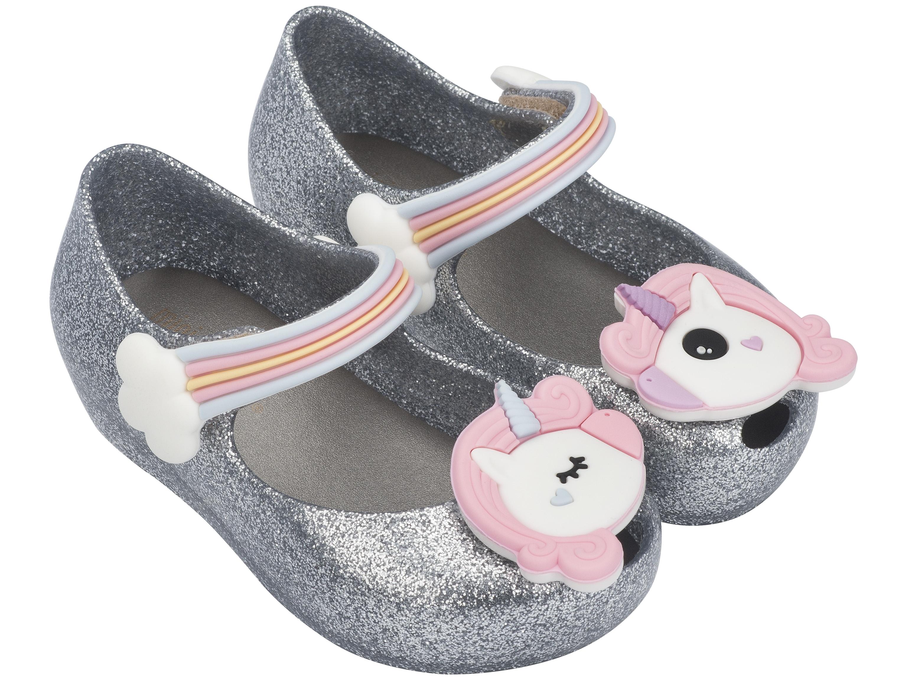 Mini Ultragirl Unicorn Silver Glitter